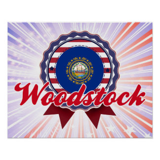 Woodstock NH Poster