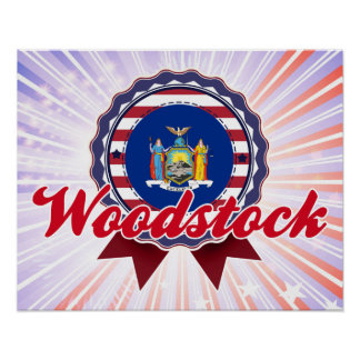 Woodstock NY Poster