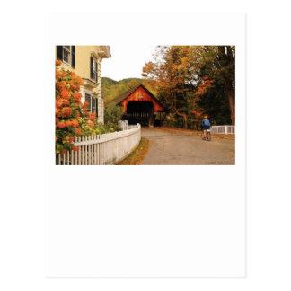 Woodstock que entra tarjetas postales