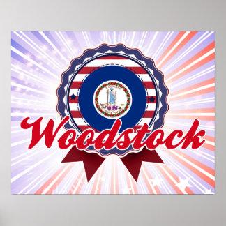 Woodstock VA Print