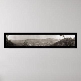 Woodstock, Vermont B Photo 1914 Poster