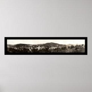 Woodstock Vermont Photo 1914 Poster