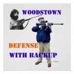 Woodstown Defense with BackUp Poster