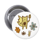 Woodsy Friends Button