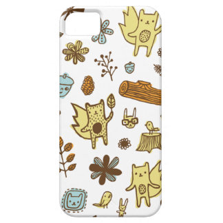 Woodsy Friends iPhone 5 Cover