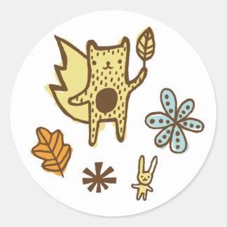 Woodsy Friends Sticker