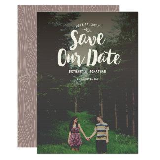 Woodsy Wedding Invitations & Announcements | Zazzle