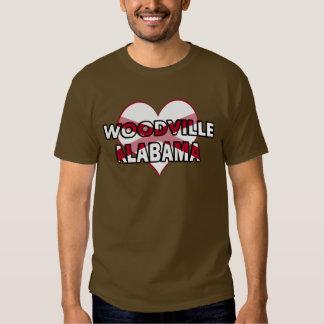 Woodville, Alabama Playeras