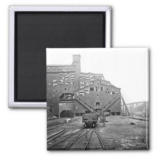 Woodward Coal Breaker Kingston Pa. Magnet