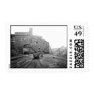 Woodward Coal Breaker Kingston Pa. Postage Stamp