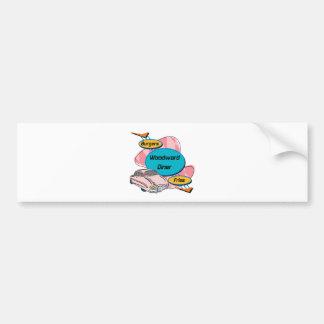 Woodward Diner Woodward Gifts By Gear4gearheads Bumper Sticker