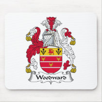 Woodward Family Crest Mousepad