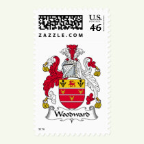 Woodward Family Crest Stamps
