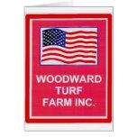 WOODWARD TURF FARM INC. GREETING CARDS