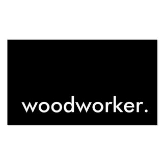 woodworker. business card template