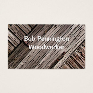 Woodworker Business Card