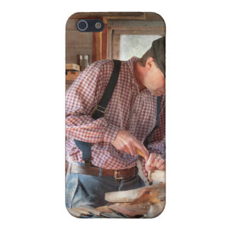 Woodworker - Carving - Carving a duck Covers For iPhone 5