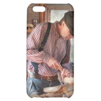 Woodworker - Carving - Carving a duck iPhone 5C Case