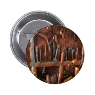 Woodworker - Old tools Pinback Button