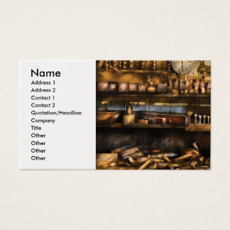 Woodworker - Planes & Augers Business Card