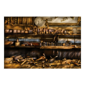 Woodworker - Planes & Augers Poster