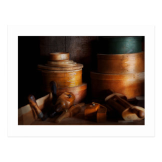 Woodworker - Shaker box shop Postcard