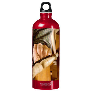 Woodworker - Shaping a spindle SIGG Traveler 1.0L Water Bottle