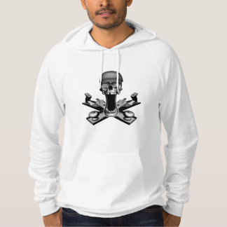 Woodworker Skull Hooded Sweatshirt