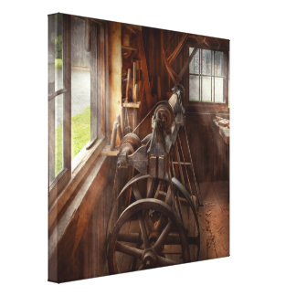 Woodworker - The art of lathing Gallery Wrap Canvas