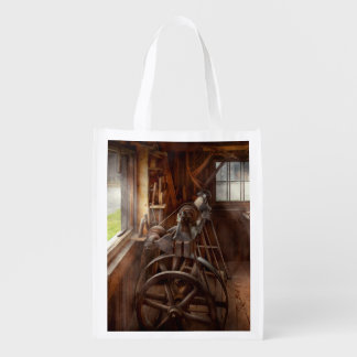 Woodworker - The art of lathing Grocery Bag