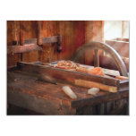 """Woodworker - The Table Saw 4.25"""" X 5.5"""" Invitation Card"""