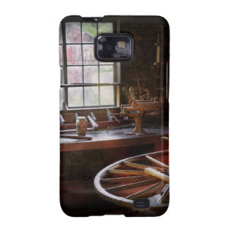 Woodworker - The wheelwright shop Galaxy SII Case