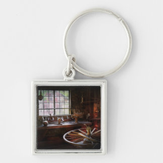 Woodworker - The wheelwright shop Keychain