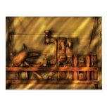 Woodworker - Wood Working Tools Postcard