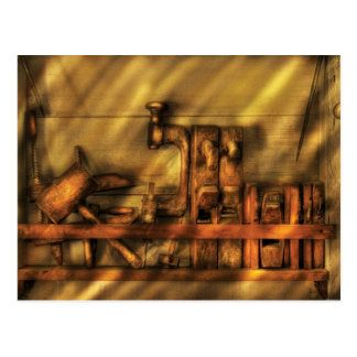 Woodworker - Wood Working Tools Postcard