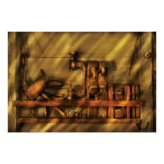 Woodworker - Wood Working Tools Poster