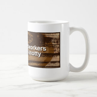 woodworkers are knotty - mug