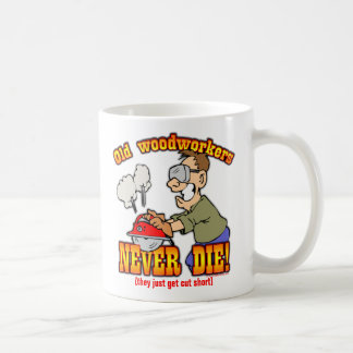 Woodworkers Coffee Mug