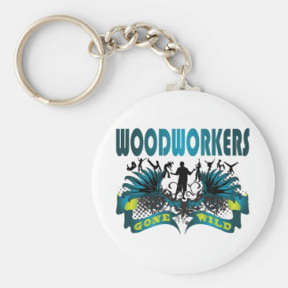 Woodworkers Gone Wild Keychain