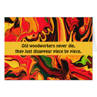 woodworkers humor card