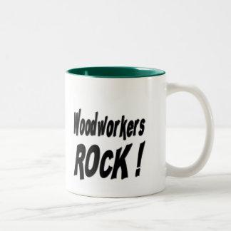 Woodworkers Rock! Mug