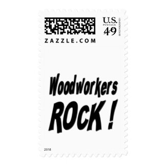 Woodworkers Rock ! Stamps