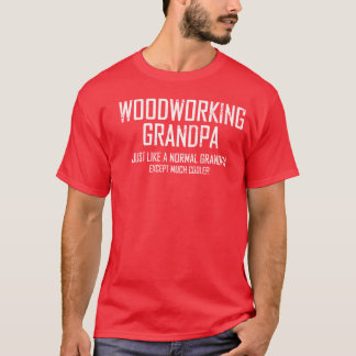Woodworking Grandpa Men's Basic T-Shirt