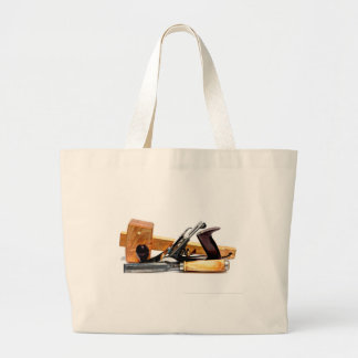 Woodworking Large Tote Bag