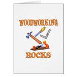 Woodworking Rocks Greeting Card