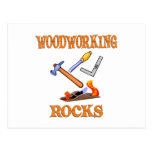 Woodworking Rocks Postcard