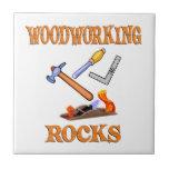 Woodworking Rocks Tiles