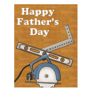 Woodworking/Tools D1 - Happy Father's Day Postcards