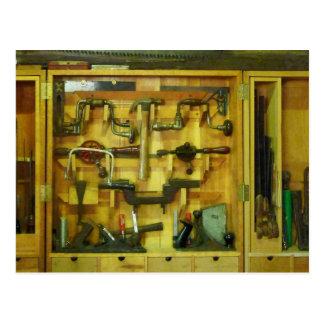 Woodworking Tools Postcard
