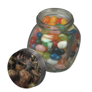 WoodWorking - Toy - The toy makers 1914 Glass Candy Jar